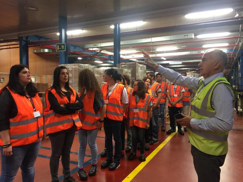 Visita a Disalfarm alumant curs Farma Industria 4.0